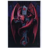 Anne Stokes-Gothic Guardian fridge magnet